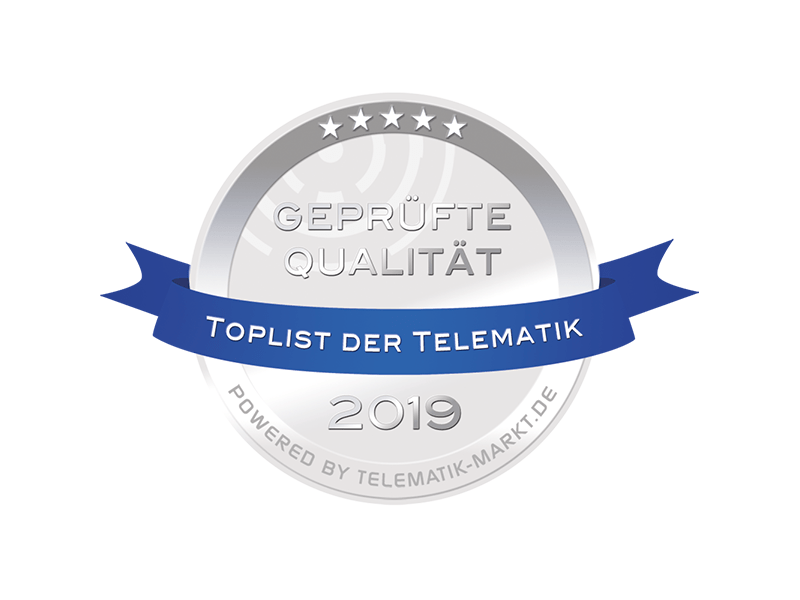Toplist der Telematik 2019: PTC erneutualifiziertes Mitglied