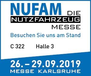 PTC Telematik GmbH auf der NUFAM 2019