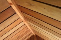 installing wooden roof insulation