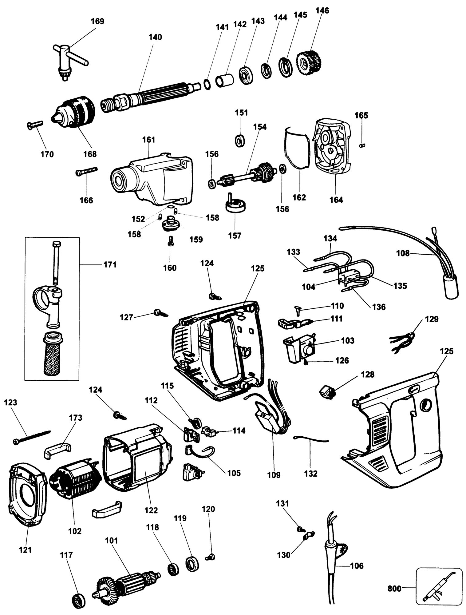 Electric Switches For Power Tools