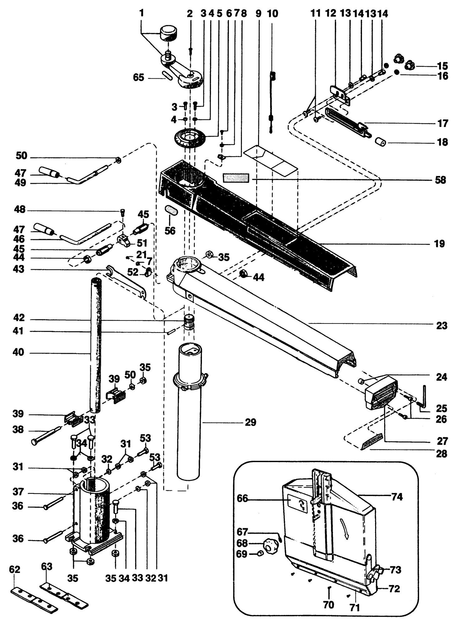 Wiring Diagram Dewalt Radial Arm Saw