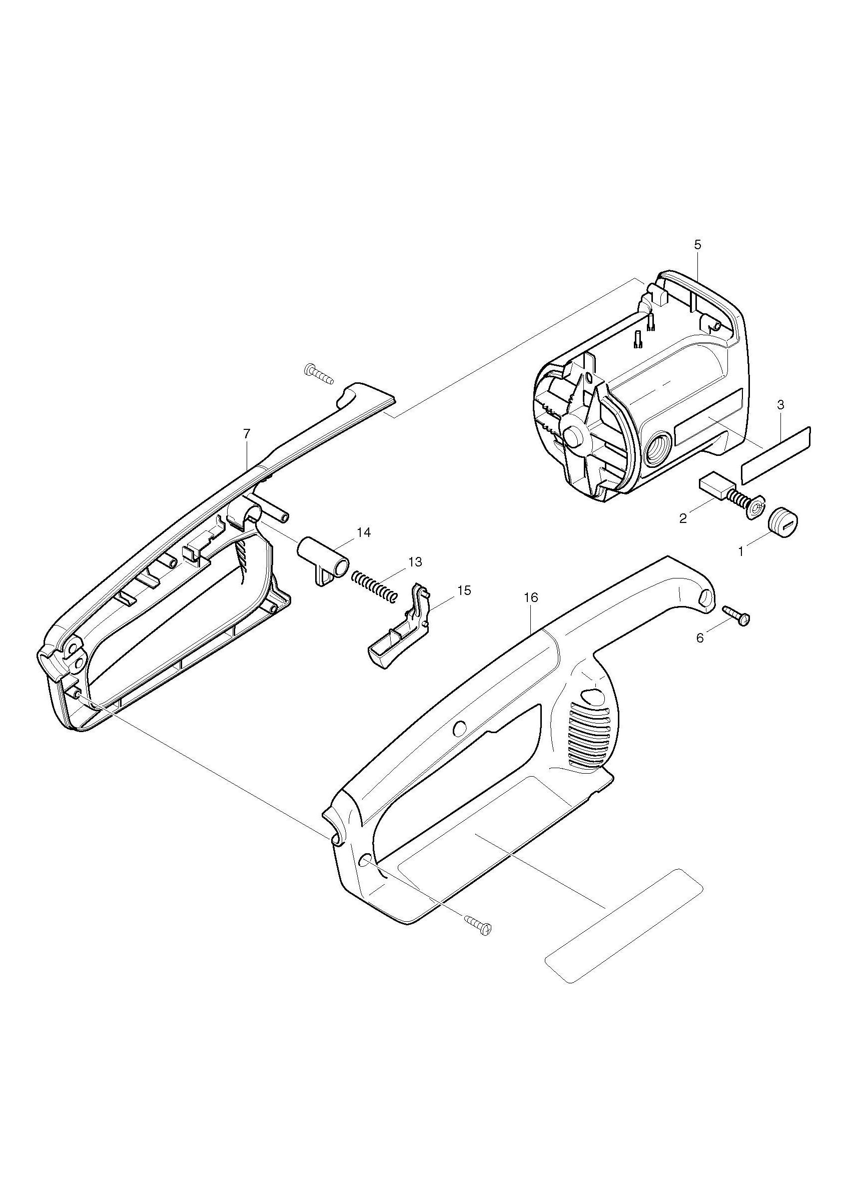 Spares For Makita Uc A Chainsaw Spare Uc A From