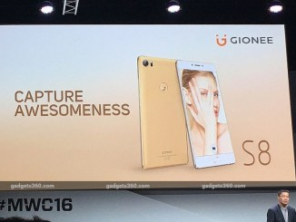 Gionee S8 With '3D Touch' Display, 'Dual WhatsApp' Launched at MWC 2016 1