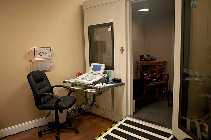 Thigpen Hearing Center Testing Room