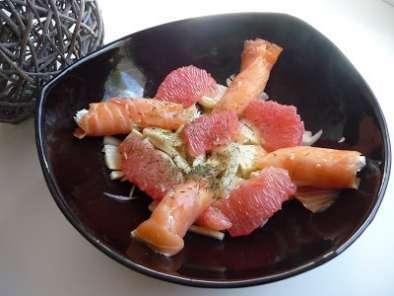 Salade De Fenouil Radis Roses Et Saumon Fum 233 Recette