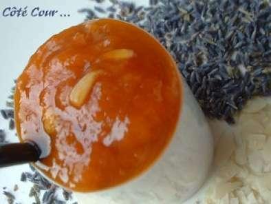 confiture d abricots et leurs amandes infusion de lavande
