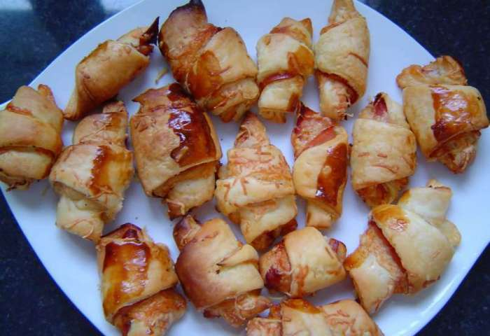 Croissants Salés Jambon Fromage Recette Ptitchef