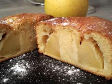 le gateau au yaourt aux pommes recette thermomix