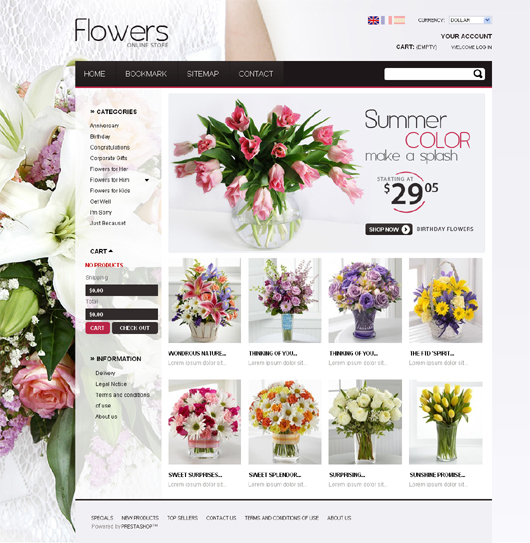 flower-store-prestashop-theme