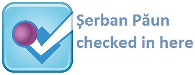 Serban Paun checked in here