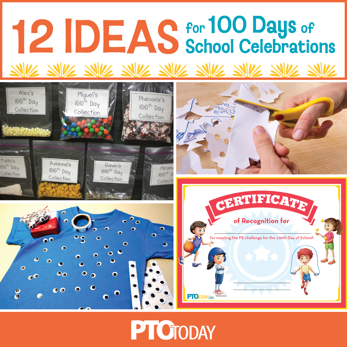 12 Ways To Mark The 100th Day Of School