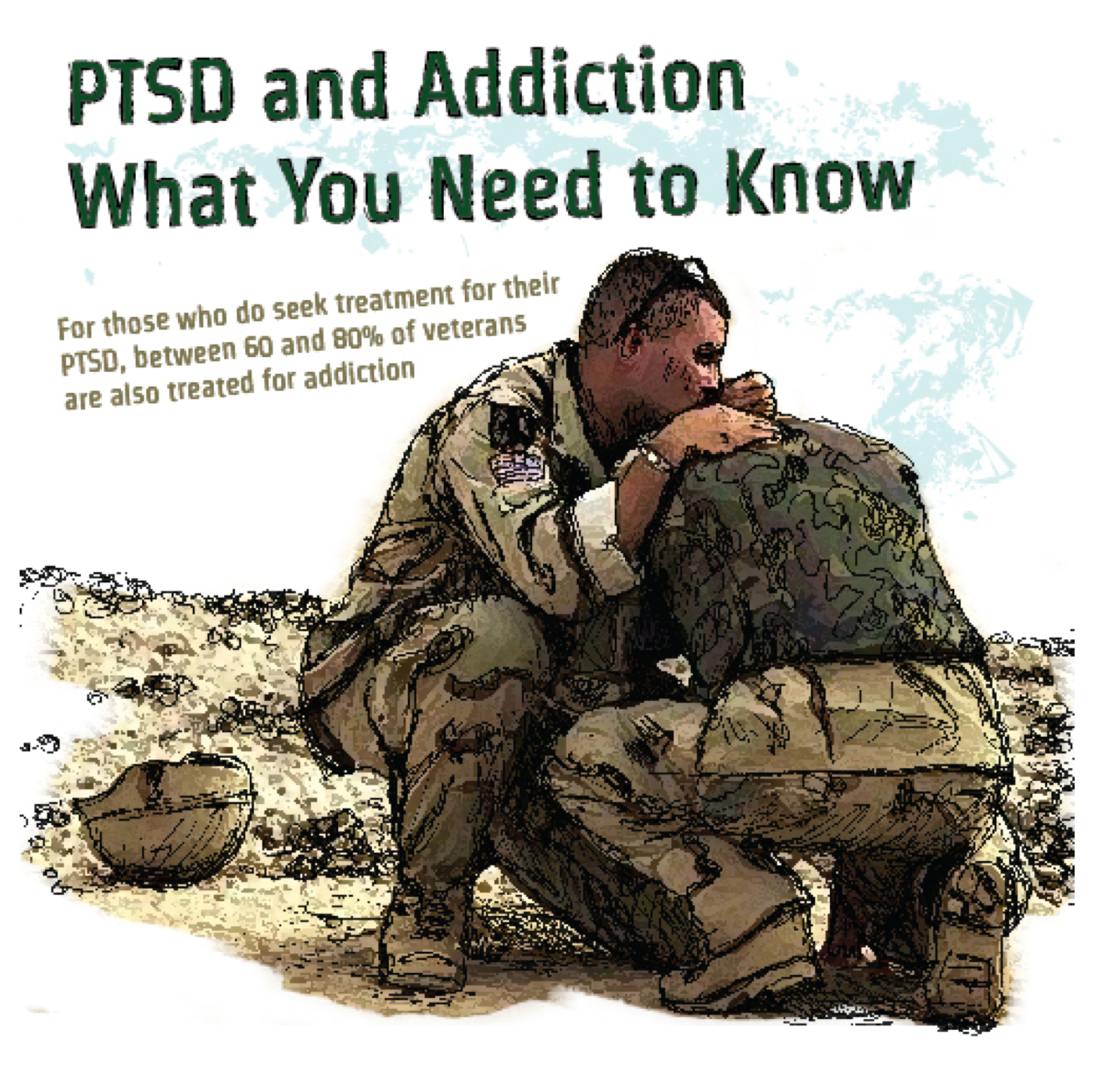 Double Whammy Substance Abuse And Ptsd