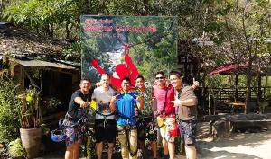 Private tour zip-line in Chiang mai