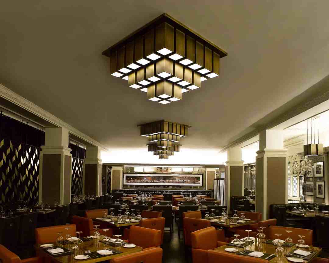 Custom Contract Restaurant Lighting 3