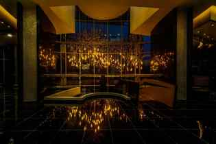 Custom Lighting and Design – American Golden Tower, Panama