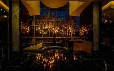 Custom Lighting and Design – American Golden Tower, Panama