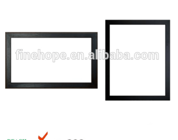 High trade assurance authorized minimalist classical PU wood frame photo picture frame