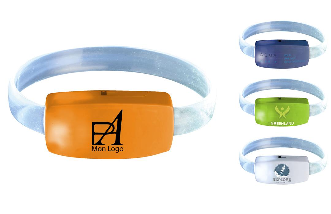 lampe bracelet personnalisée