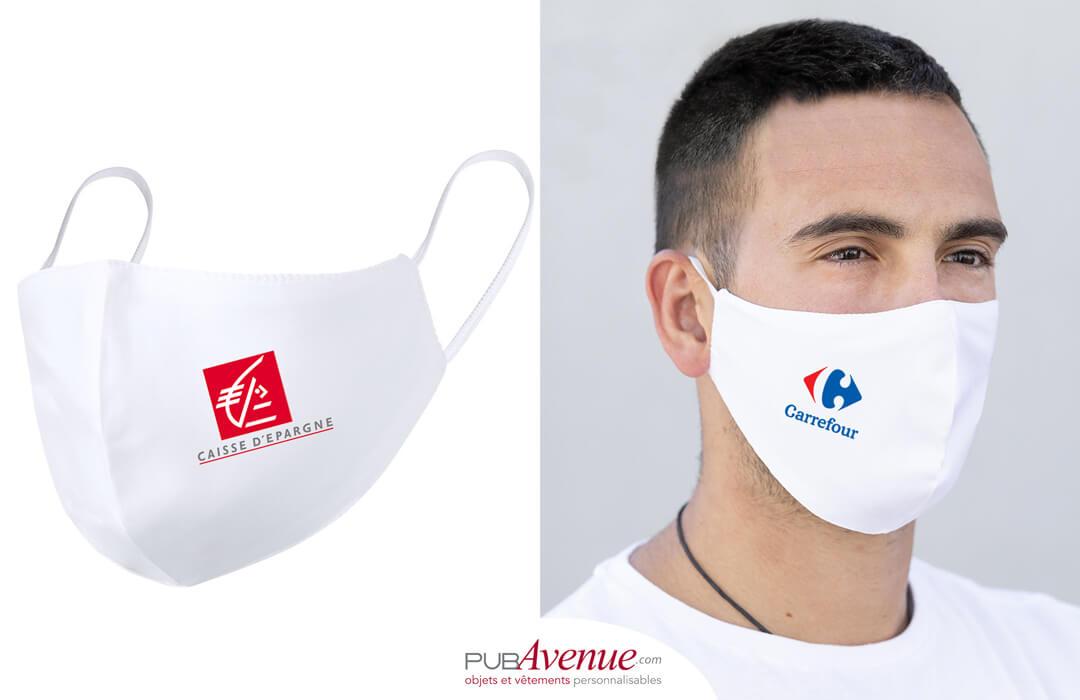masque personnalisé pour entreprise
