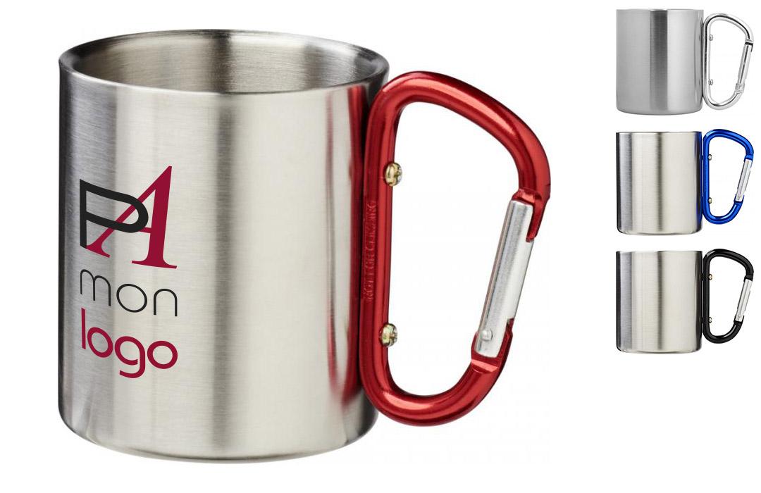 mug en métal personnalisé