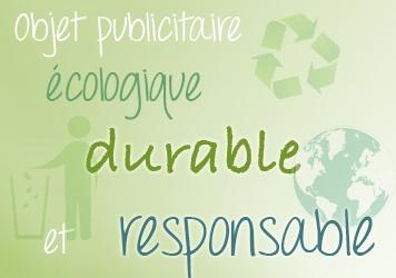 objet publicitaire écologique