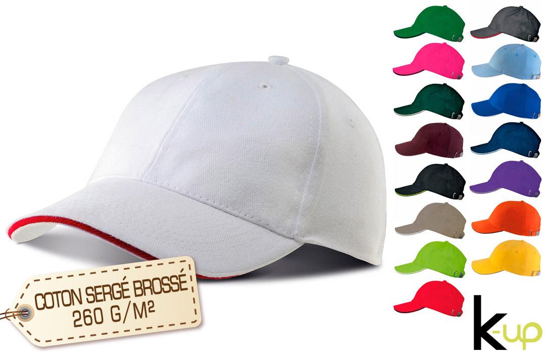 casquette personnalisée logo brodé pour entreprise