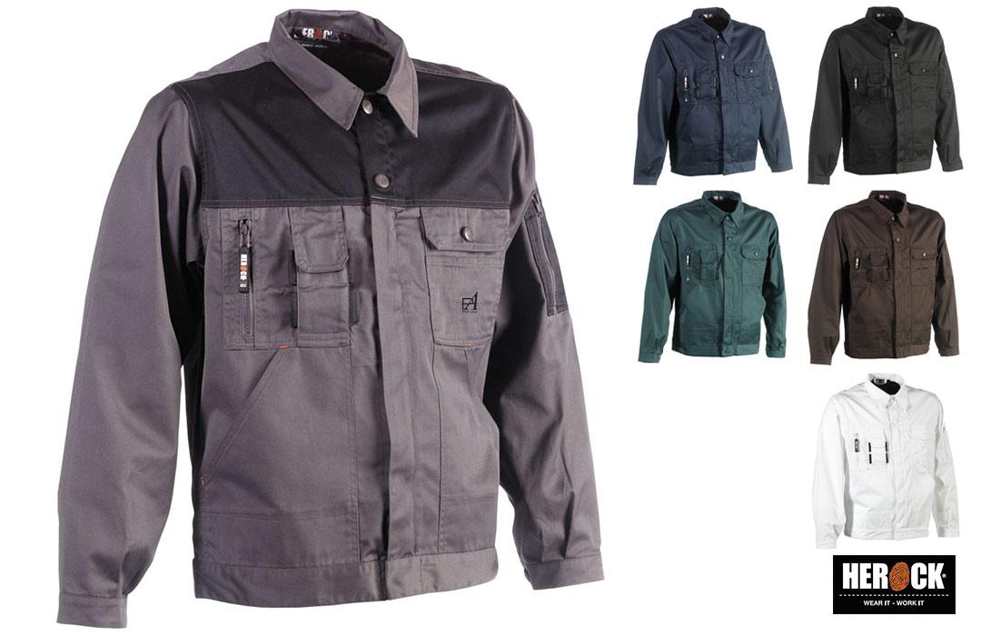veste de travail herock personnaliable pour entreprise