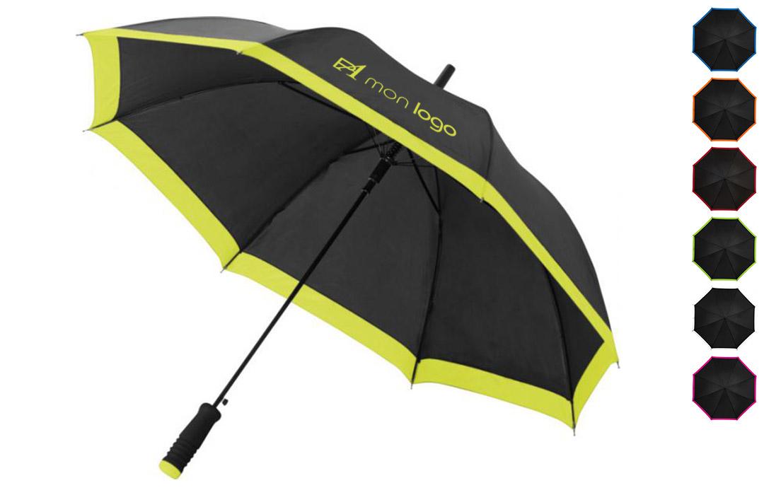 parapluie personnalisé avec texte