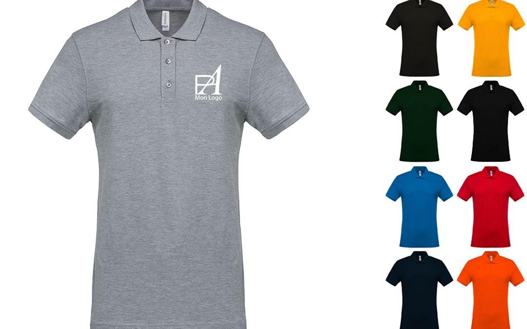 Flocage polo personnalisé avec logo de votre entreprise