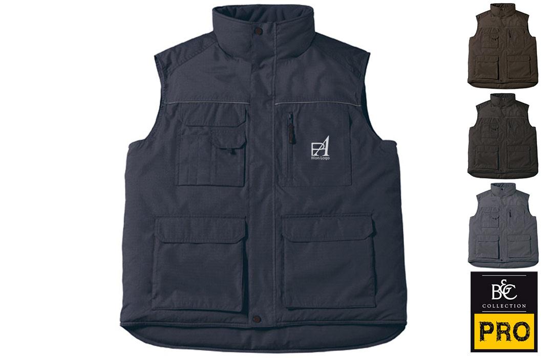 veste multipoches professionnelle pas cher