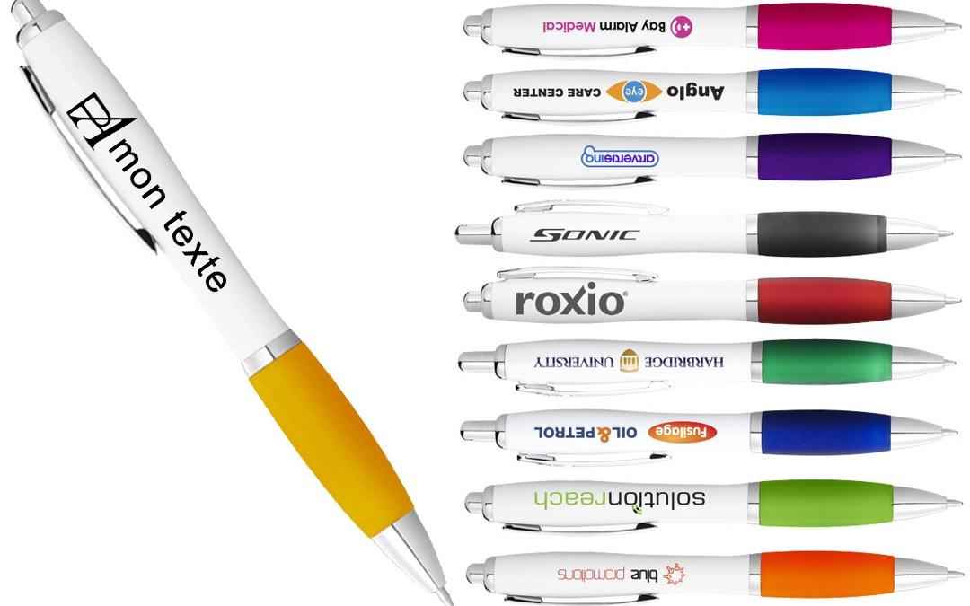 Les stylos personnalisés des objets publicitaires pas chers