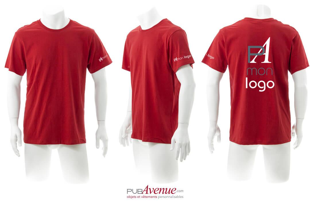 Tee shirt publicitaire personnalisé