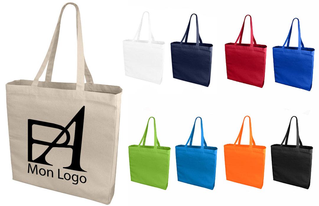 Tote bag personnalisé pour entreprise - Pubavenue
