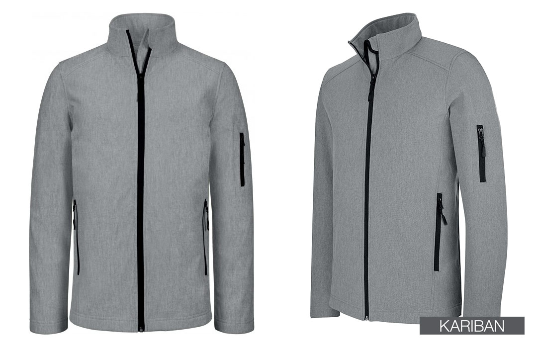 softshell homme personnalisée