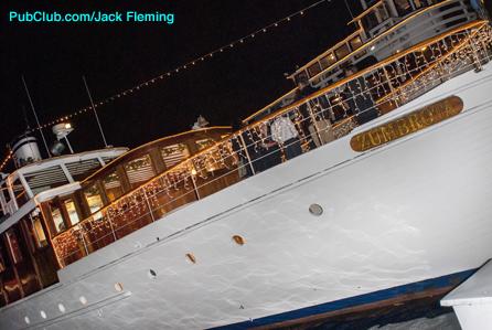 Mae West's yacht Zumbroata