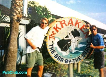 The Kraken bar Cardiff-By-The-Sea