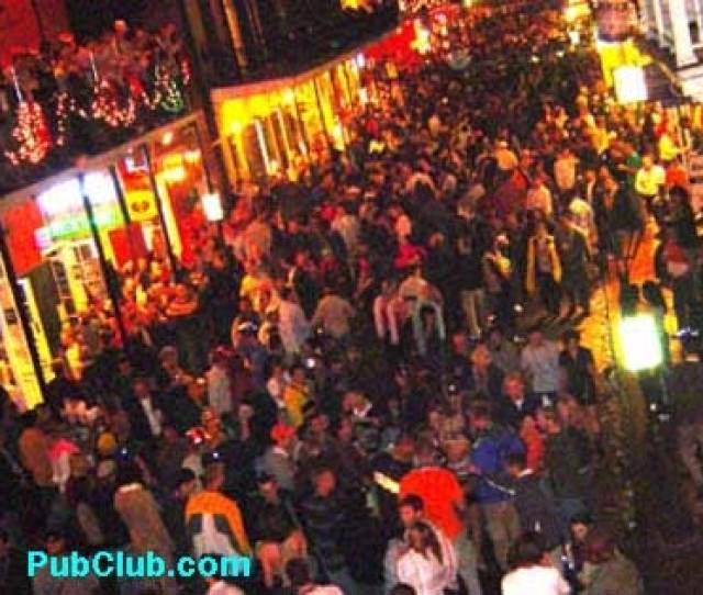 New Years Eve New Orleans Bourbon Street