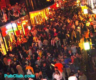 New Year s Eve New Orleans Is Top Party Destination New Year s Eve New Orleans Bourbon Street