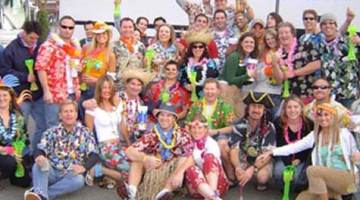 Jimmy Buffett Irvine Meadows 2016 Show Party Bus
