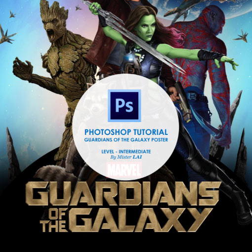 18 tutoriels pour recréer des titres de films avec Photoshop