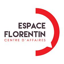 logo-espace-florention-bulle-discution-rouge