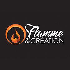 Flamme et Création logo cheminée