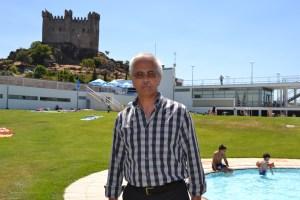 Visita às piscinas municipais de Penedono, no âmbito das Férias Animadas que decorrem durante este mês