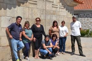 Grupo de trabalho do projeto CEI Património da União de Freguesias de Antas e Ourozinho/Telhal