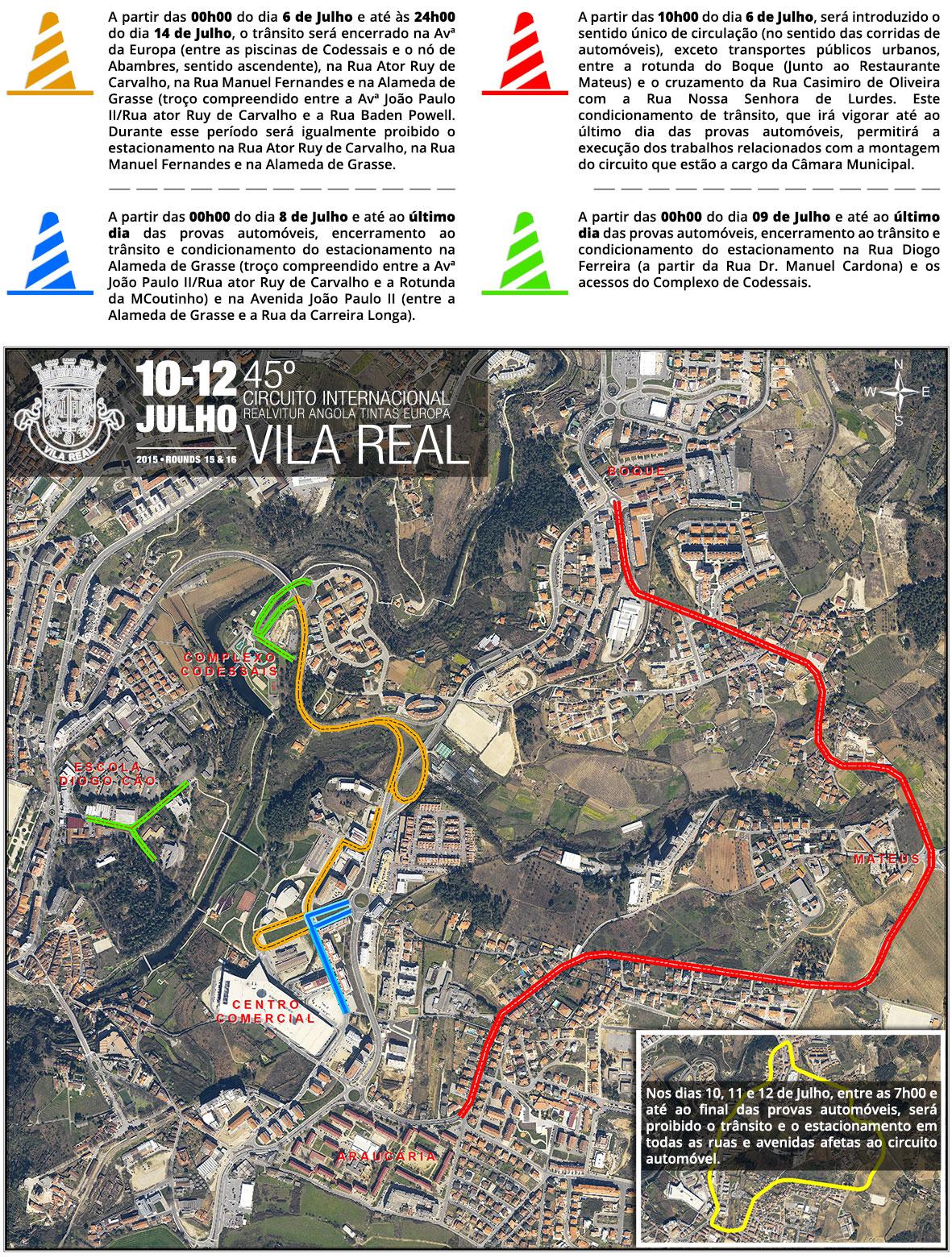 Circuito Vila Real : Vivadouro condicionamentos no tr nsito devido ao circuito