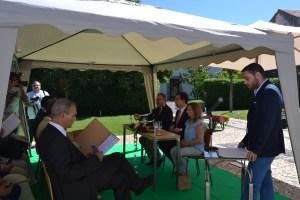 A cerimónia contou com a participação de diversas entidades envolvidas no protocolo/Foto: Salomé Ferreira