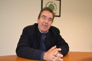 João Ferreira, presidente da Cooperativa Agrícola de Penela da Beira