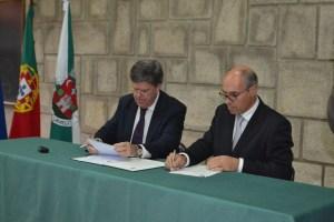 José Miguel Leonardo, diretor-geral da Randstad e Francisco Lopes, presidente da autarquia