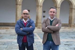 Padre Amadeu Castro e Eduardo Pinto/Foto: Salomé Ferreira