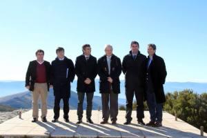 Os representantes dos seis municípios envolvidos no projeto | Foto: Direitos Reservados